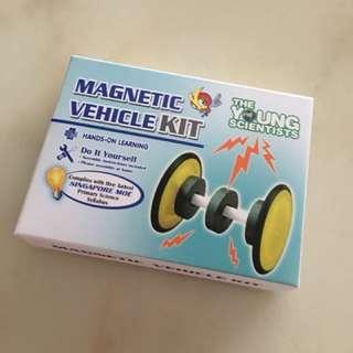 Magnetic vehicle kit