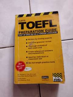 TOEFL Preparation Book