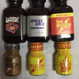 Rush Jungle Juice Jacked Leather Cleaner Poppers