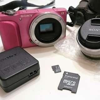 1/19降價  SONY NEX-3N 類單/微單 + 原廠鏡頭 【送】 8G記憶卡  二手