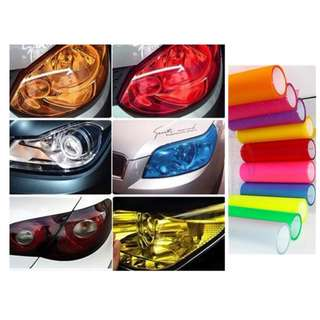 Car Headlight Tinting