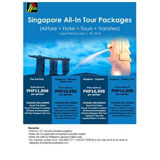 Singapore All-In Tour Packages