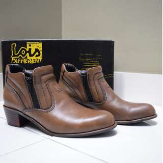 Kasut Kulit Lois | Lois Ladies Leather Boots