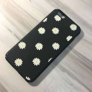 黑色菊花手機殻(iphone6/6s)