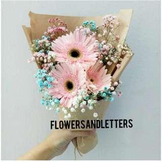 (VDAY PROMO!) Gerbera Daisy Bouquet fresh flower bouquet