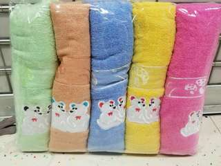 bath towel 70x140 1set (5pcs)