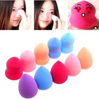 Free NM*Pro Beauty Cosmetic Blender Foundation Puff Teardrop/Gourd Sponges/15 colors concealer kit($5/9 for self collect @ s760244)
