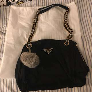 Prada vintage chain bag