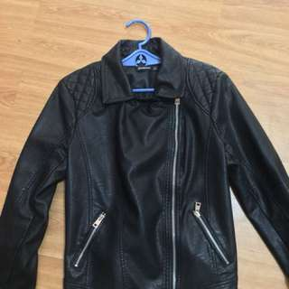 Women's Leather Jacket (Stradivarius)