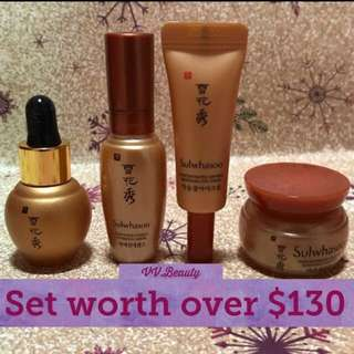 ❗️4 @ $50❗️Sulwhasoo Best Ginseng Set