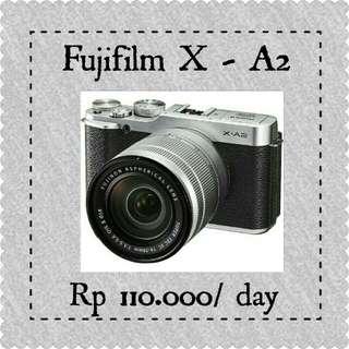 Sewa Fujifilm Mirrorless XA-2 Murahhh