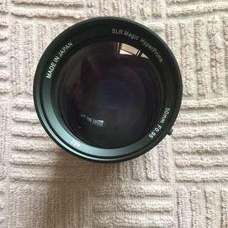 SLR MAGIC F0.95 50mm lens