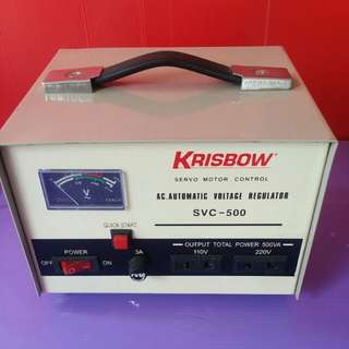 Krisbow. Ac.Automatic Voltage Regulator