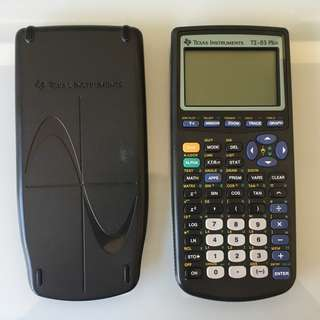 TI-83 Plus Texas Instruments Grapgic Calculator