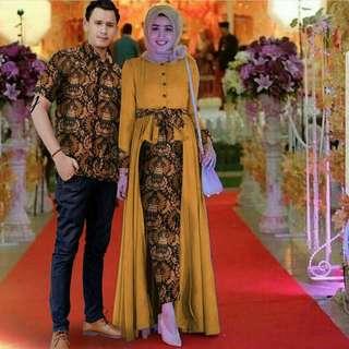 Batik Couple - kuning
