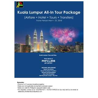 Kuala Lumpur All-In Tour Package