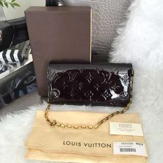 Louis Vuitton Chaine Vernis Wallet Clutch