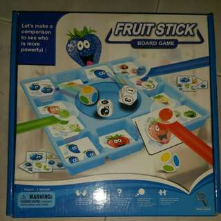 Fruit stick board game