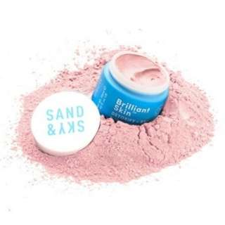 SAND & SKY PINK CLAY MASK