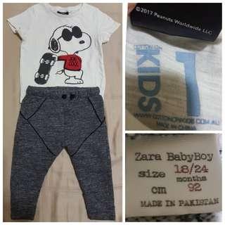 Boys clothing ZARA (18-24mo)