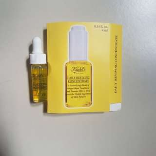 FOC NM $8/tube BN kiehl's daily reviving concentrate 4ml