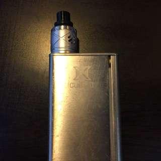 XCUBE II 160W w/ atomizer
