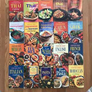 46 Mini Cookbooks