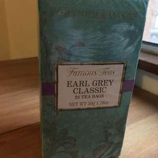 Fortnum & Mason Earl Gray tea bags 伯爵茶包