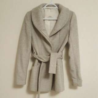 Grey Aritzia Wilfred Free Coat