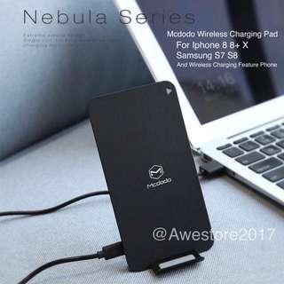 Mcdodo Qi Wireless Fast Charging Pad Iphone X 8 S7 S8