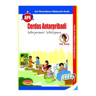 Buku Keterampilan Umum Orang Tua Berjudul Cerdas Antarpribadi