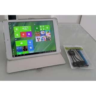 Onda V975w 9.7吋 Windows 10 Tablet 平板電腦 (連套, 配件)