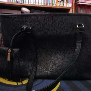 Tas Quincy Label totebag
