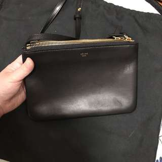 Celine Trio Black 斜咩袋