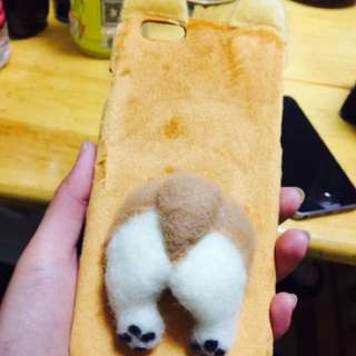 哥基柯基電話殼 iphone 6 plus 狗年