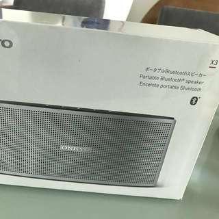 請勿議價 ONKYO X3 Portable Bluetooth Speaker 100% new   請勿議價 購買日期2017年12月
