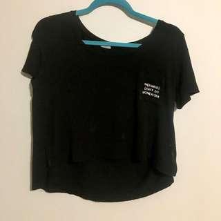 Brandy Melville Crop Tshirt