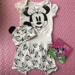H&M Minnie Mouse Set (6-9M)