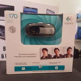 New Logitech 5mp web cam model c170