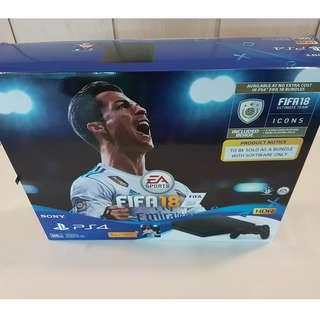 PlayStation4 FIFA 18 Bundle Pack (New)