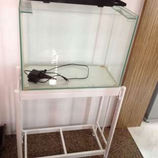 2ft glass tank set with stand