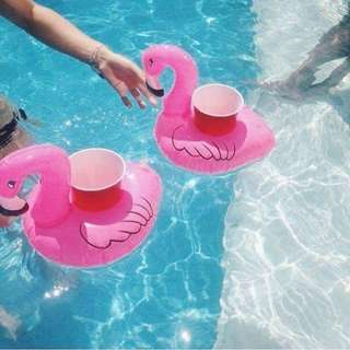 Pink Flamingo Cup Holder