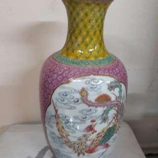 粉彩龙鳳瓶