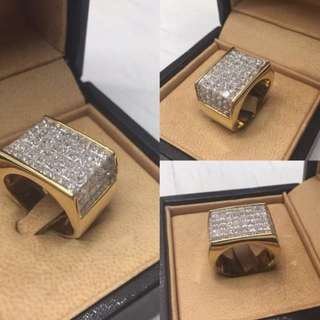 Imported Men's Ring diamonds (negotiable)