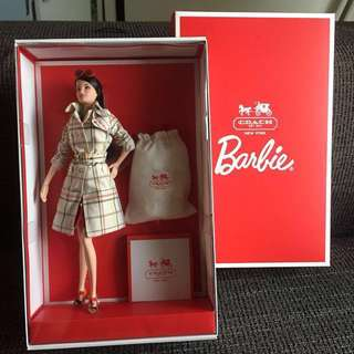 *REDUCED* LIMITED BNIB Coach Barbie Collector's Series
