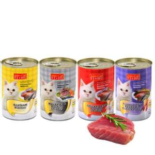 Aristo Cats Wet Food 400g, 24 cans