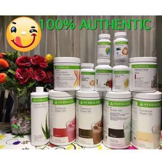100% Original Herbalife Nutrition