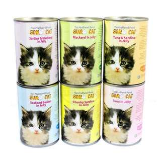 Sumo Cat Food 400g, 24 cans