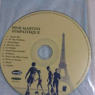 Audiophile CD - Symphathique by Pink Martini