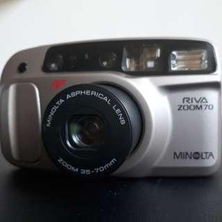Minolta Riva Zoom 70 film camera